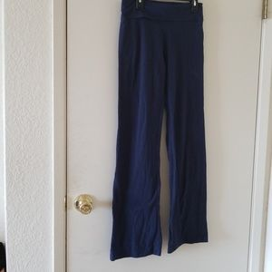 One Step Up blue yoga pants size small